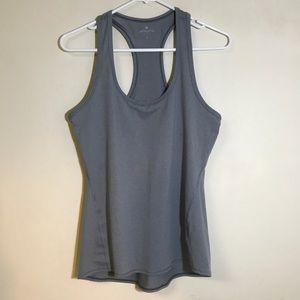 Athlete gray tank top